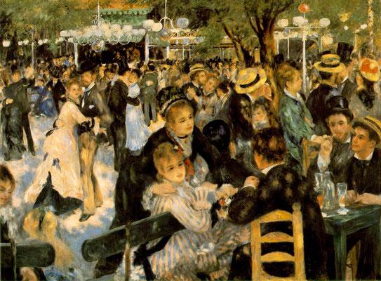 Visite thématique privée Paris impressionnistes Renoir