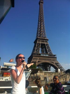 Croisière à la découverte de Paris depuis la Seine