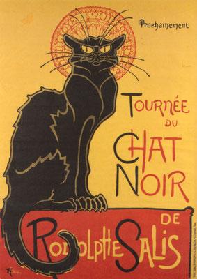 Guide privé Cabaret Chat Noir Butte Montmartre