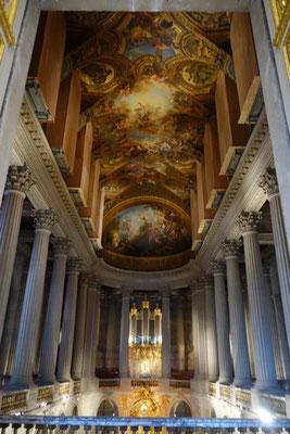 Guide privé Palais de Versailles chapelle royale