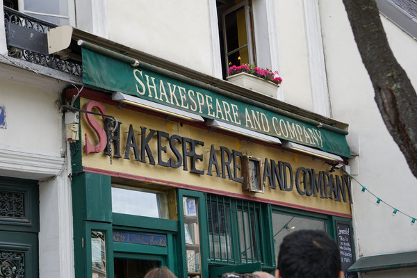 Visite insolite quartier littéraire shakespeare and company