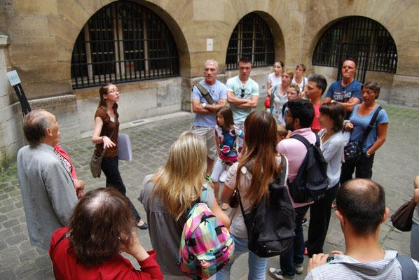 visite en groupe à Paris