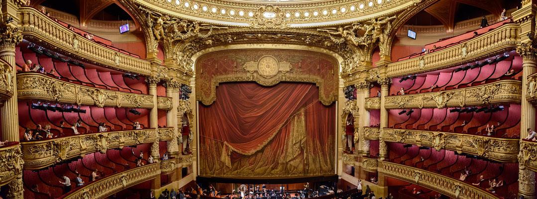 Visite guidée Opéra Garnier Paris salle de spectacle
