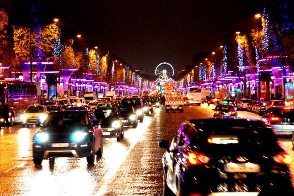 Visite Paris en bus pour les groupes Champs Elysées