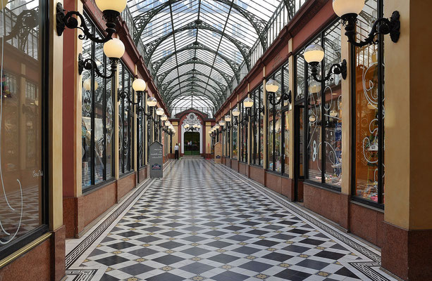 Visite guidée Galeries couvertes Paris Passage des princes