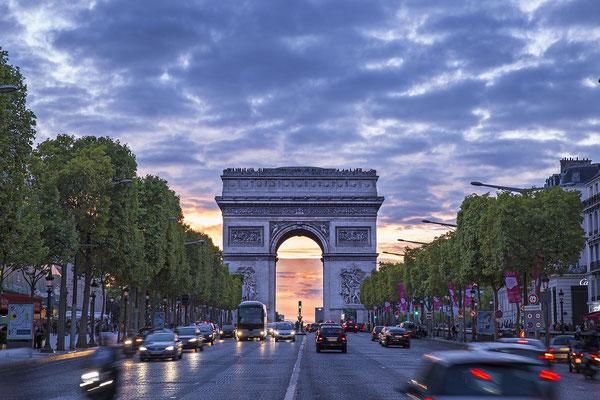 Visite guidée Découverte Paris Arc de Triomphe Champs Elysées