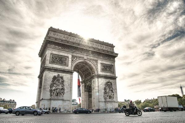 Visite guidée Arc de triomphe Paris tombe du soldat inconnu