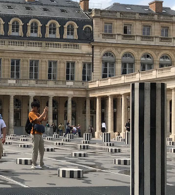 Visite privée lieux secrets Paris Palais Royal