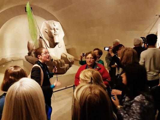 visite groupe Egypte Louvre