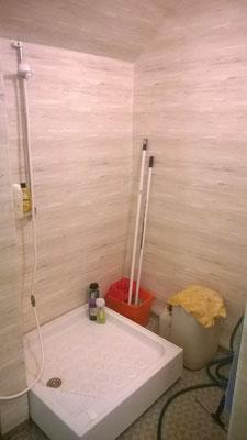 Wohnung 1,  Dusche vorher