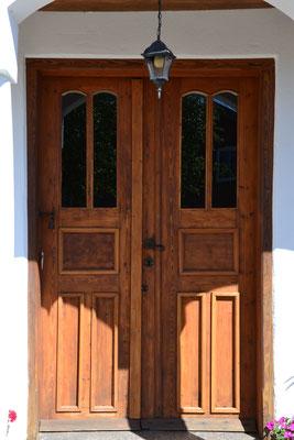 Unsere alte Eingangstür