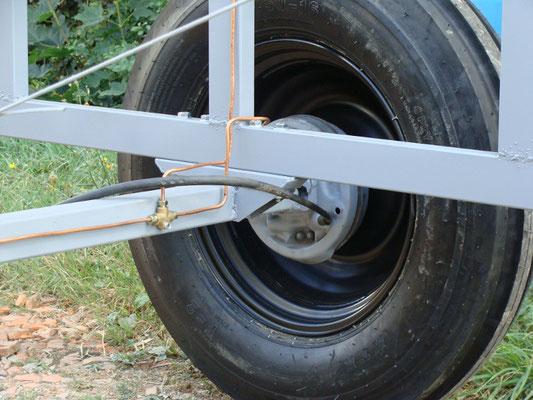 freinage hydraulique