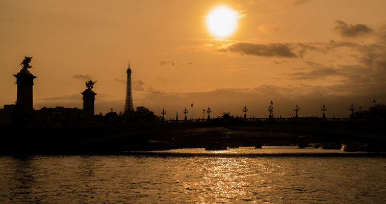 Sunset in Paris