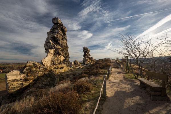 Teufelsmauer (Devils wall) near Weddersleben