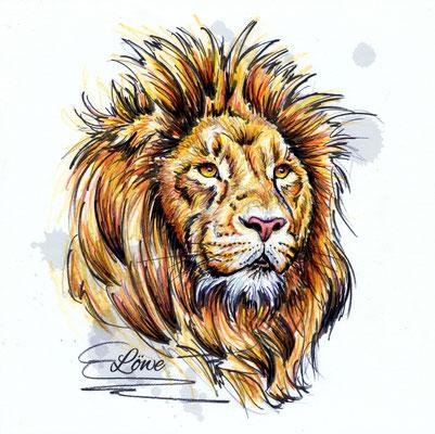 Löwe | Original-Farben
