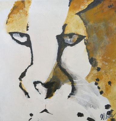 40 x 40 cm, Acryl auf Leinwand,