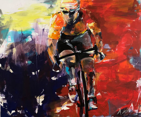 Race, 120x100 cm,Acryl auf LW