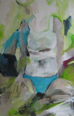 80 x 120 cm, Acryl auf Leinwand