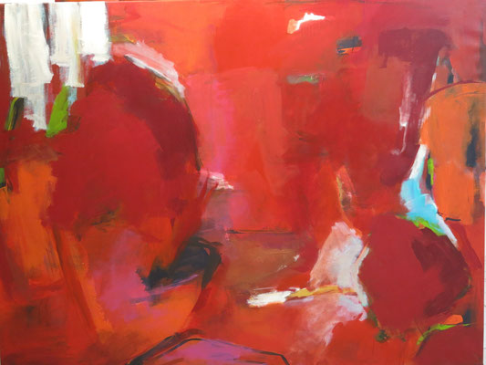 ca. 200 x 150, Acryl auf Leinwand
