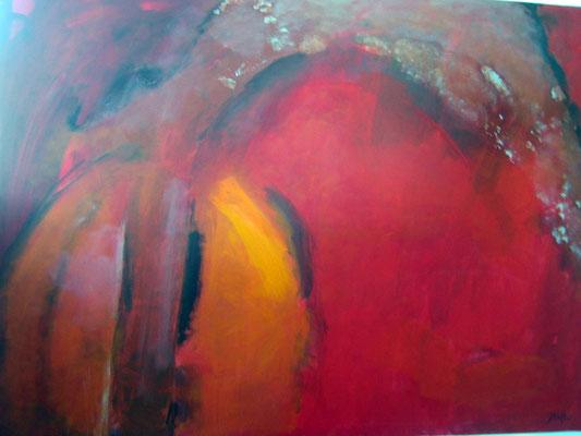 100x140cm, Acryl auf Leinwand