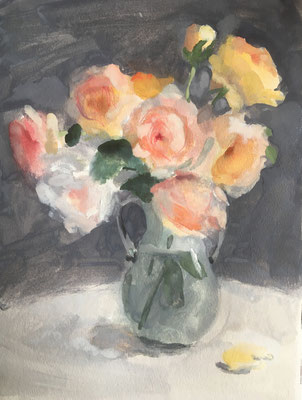 「春のバラ」 4号大