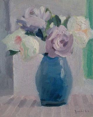 庭のバラ 3号 一枚の繪