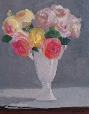卓上の薔薇 6号