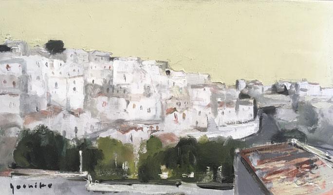 「モンテ・サンタンジェロ」M6油彩