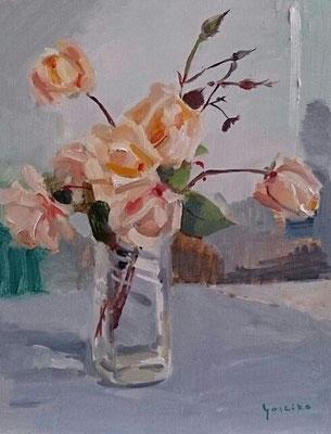 秋のバラ 6号