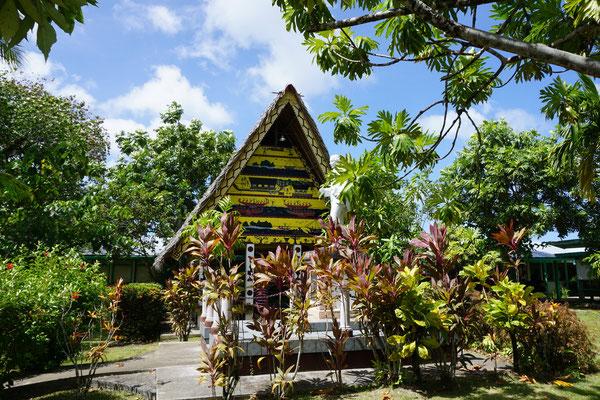 Traditionelles Männerhaus