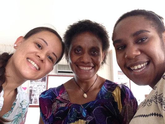 Johanna mit PNG und West-Papua vereint