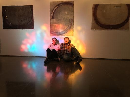 Completament il·luminats Frederic Giròs i jo.