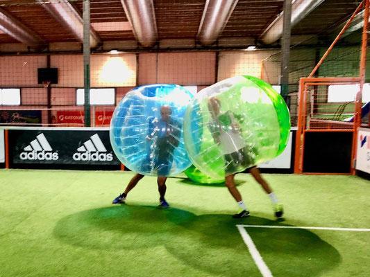 Buuble foot Annecy pour EVG/EVJF, team-building, anniversaire enfants et adultes