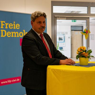Kreisvorsitzender der Freien Demokraten Peter Hanke
