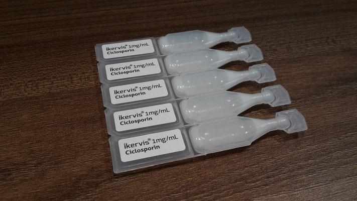 Ikervis/Ciclosporin Augentropfen EDO´s