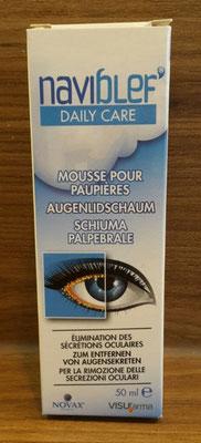 Naviblef Augenlidschaum Verpackung