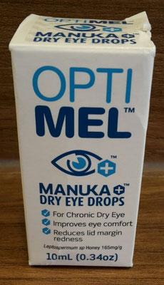 Manuka Augentropfen Vorderseite (Trockene Augen, Sicca Syndrom)
