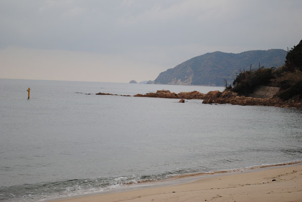 並び松海水浴場の写真
