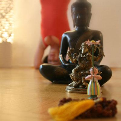 Katja Bienzeisler mit Buddha 3
