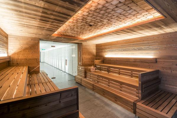 Nach dem Yoga ab in die Sauna