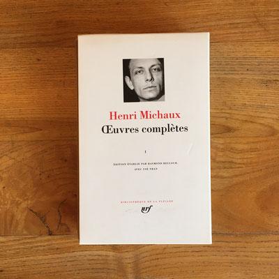 Livre Pléiade tome 1 Henri Micahux