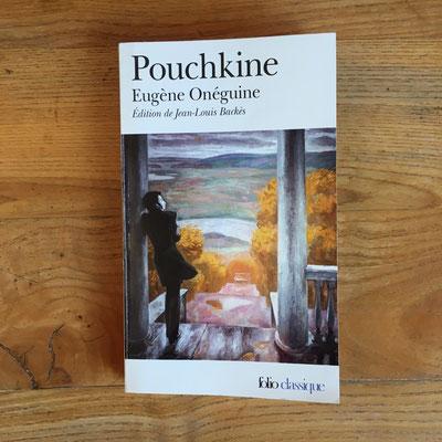 Livre Eugène Onéguine de Pouchkine