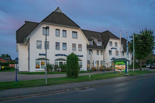 """Das Hotel """"Wikinger Hof"""" in Kropp."""