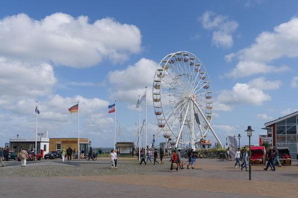 Das Riesenrad am Lister Hafen