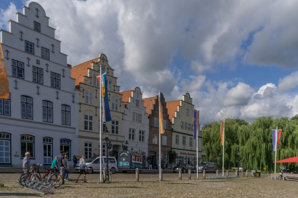 Häuserzeile am Marktplatz