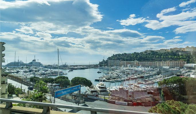 der Hafen von Monte Carlo
