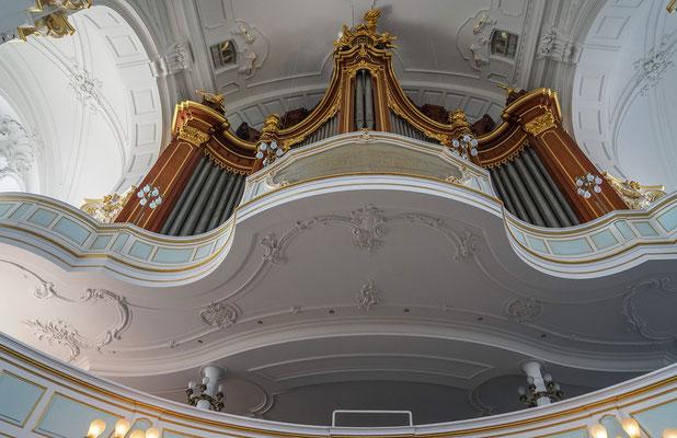 Orgel /Innenraum von St. Michaelis