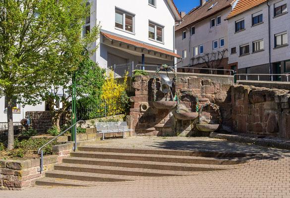 Narrenbrunnen, Külsheim, TBB