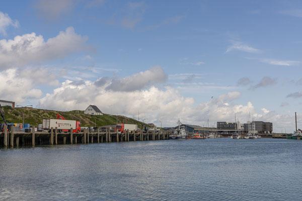 Der Hafenbereich von Hörnum