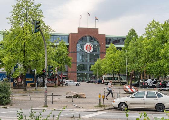 Millerntor-Stadion, Spielstätte des Fußballclubs FC St. Pauli von 1910 e.V.
